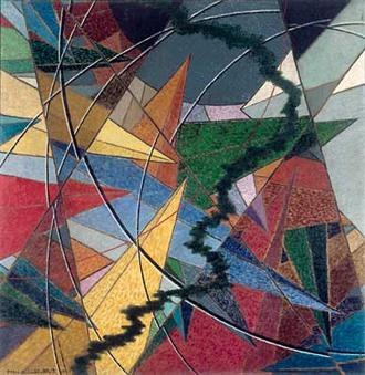 The War (1916), Pierre Albert-Birot