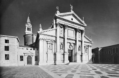Basílica de San Giorgio Maggiore en Venecia de Andrea Palladio