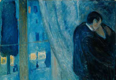 Edvard Munch, Kiss by the Window