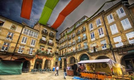2º Premio: Miguel Carrillo Vicente (Plaza mayor, Ourense)