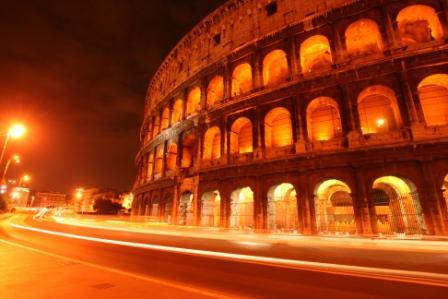 Finalista: Julia Worgull (Coloseum by night, Roma)