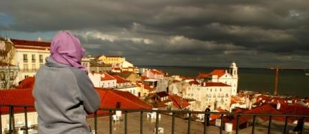 Accesit: Mariano Molina Iniesta (Tormenta sobre el Tajo, Lisboa)