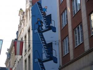 Un paseo por Bruselas, capital mundial del cómic