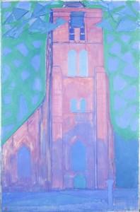 Zeelí¤ndischer Kirchturm, 1911