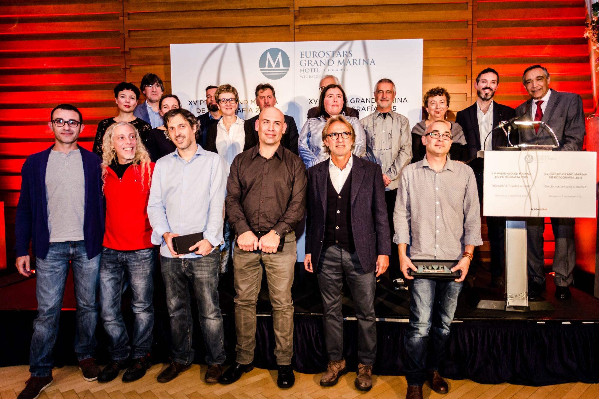Ganadores del XV Premio Eurostars Grand Marina