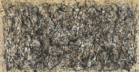 Exposición de Jackson Pollock en el MoMA