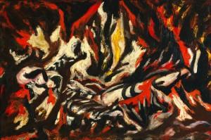 The Flame, de Jackson Pollock