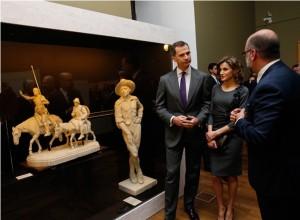 """Exposición """"Miguel de Cervantes: de la vida al mito. 1616-2016"""""""