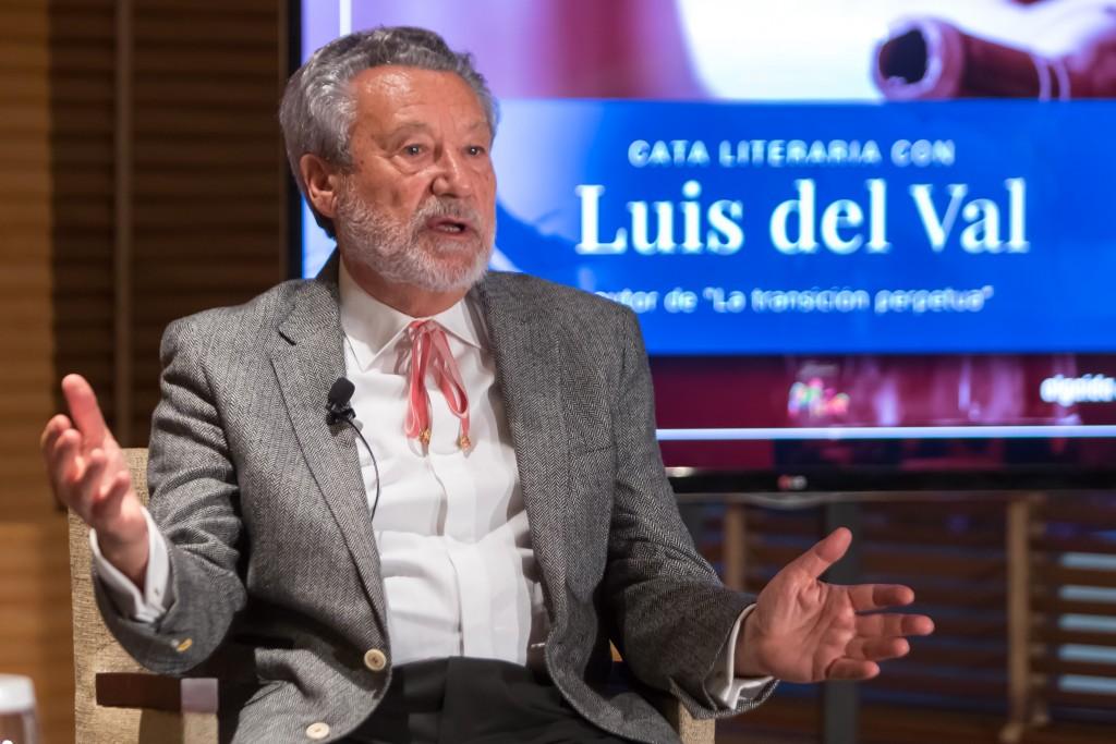 Luis del Val, protagonista de la IV cata literaria Wine&Books