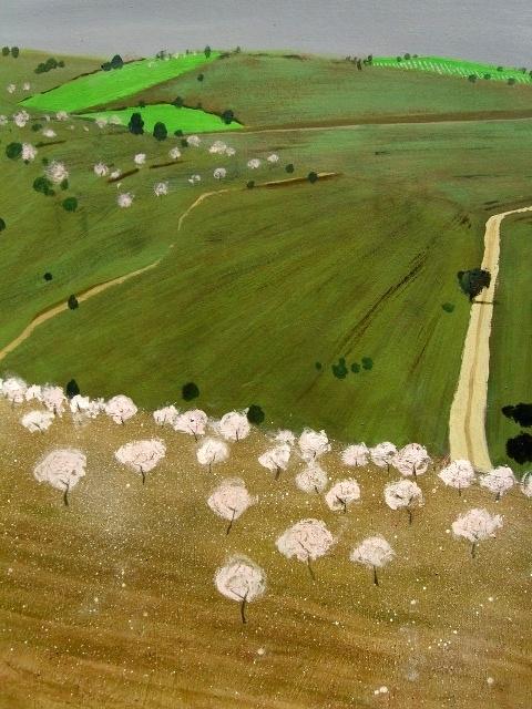 """""""Almendros en flor"""", de David Pearson"""