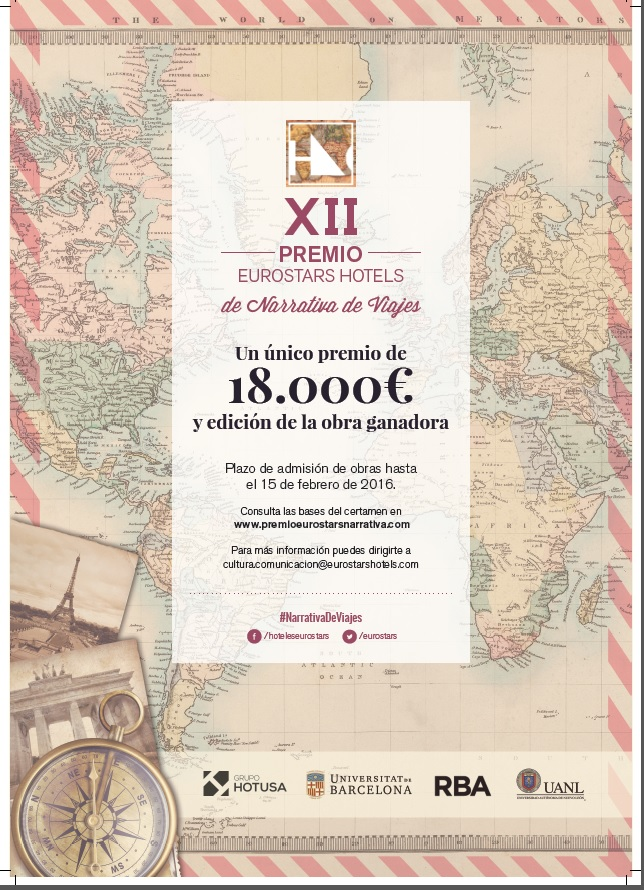 XII Premio Eurostars Hotels de Narrativa de Viajes