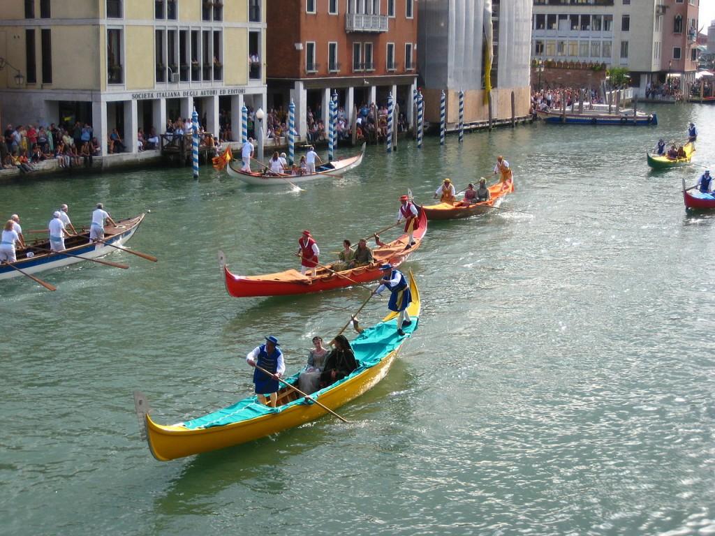 Regata Storica de Venecia