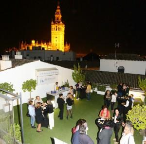 Cata literaria Wine & Books del Eurostars Sevilla Boutique