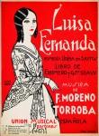 Cartel de Luisa Fernanda