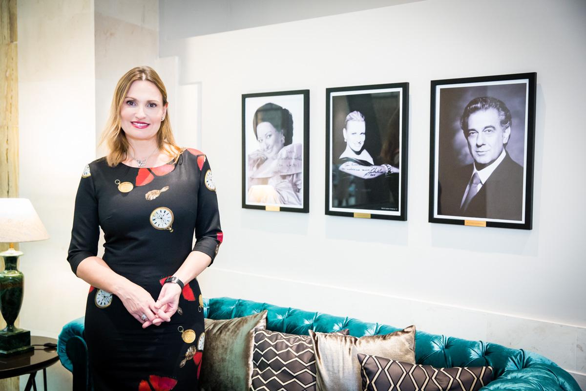 Ainhoa Arteta en el Eurostars Casa de La Lírica 4* / AG