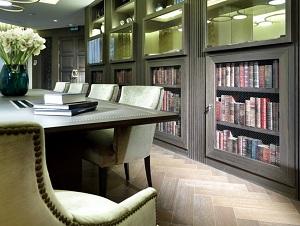 Biblioteca del Eurostars Washington Irving en Granada