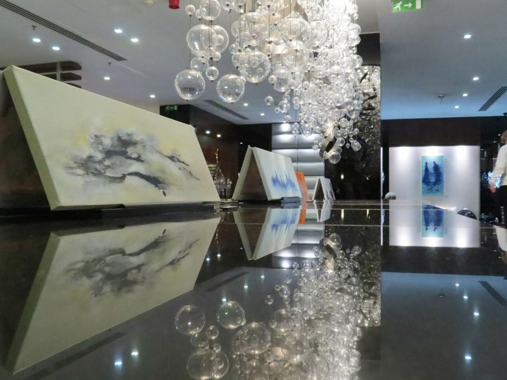 Exposición de Edite Melo en el Eurostars Das Letras Hotel 5*