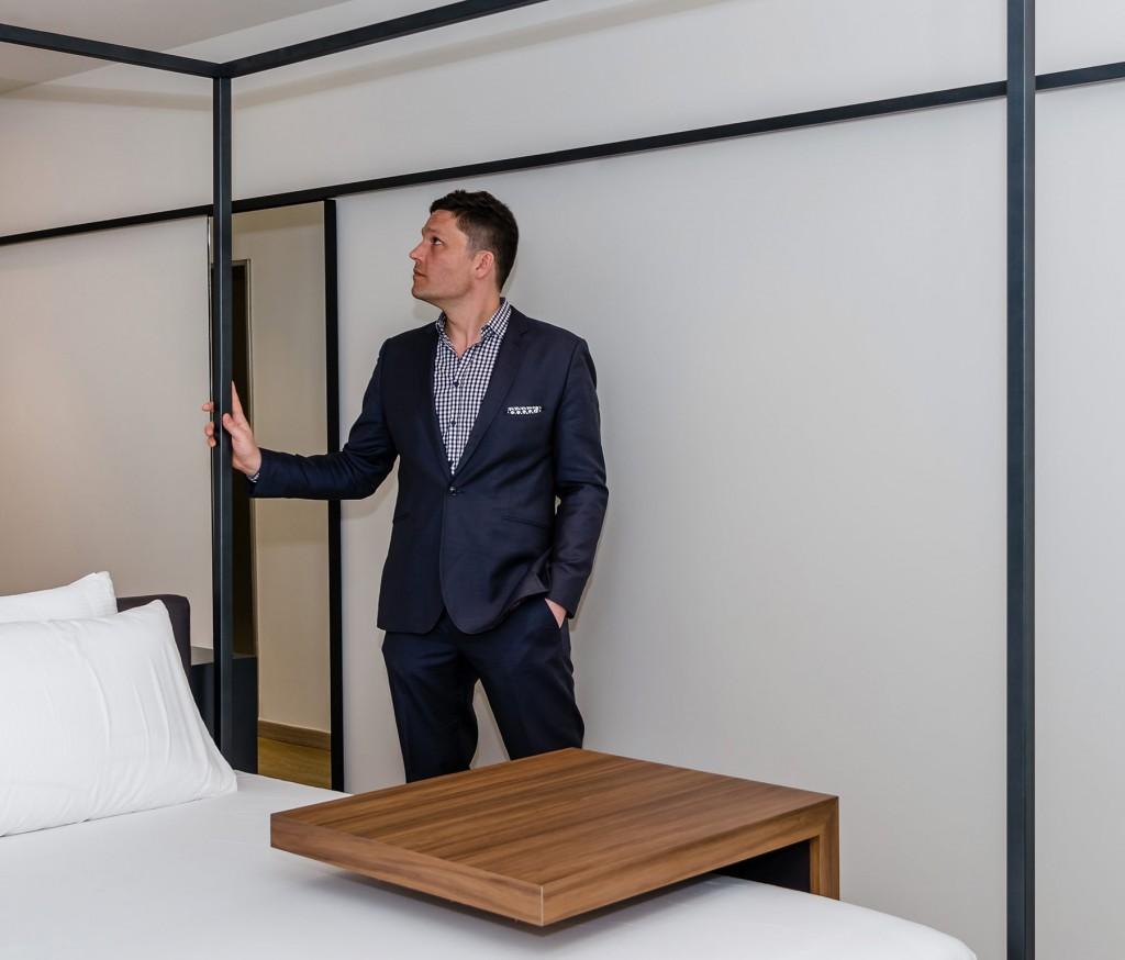 Andrei Zerebecky, ganador del primer concurso Eurostars Hotel Lab junto a Lukasz Kos