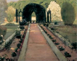 Exposición 'Jardins d'Espanya', de Santiago Rusiñol