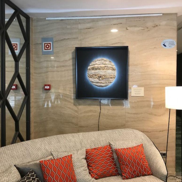 Exposición de Mercedes Noguera, Eurostars Cristal Palace