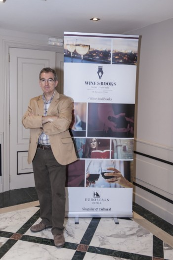 Santiago Posteguillo en Wine & Books
