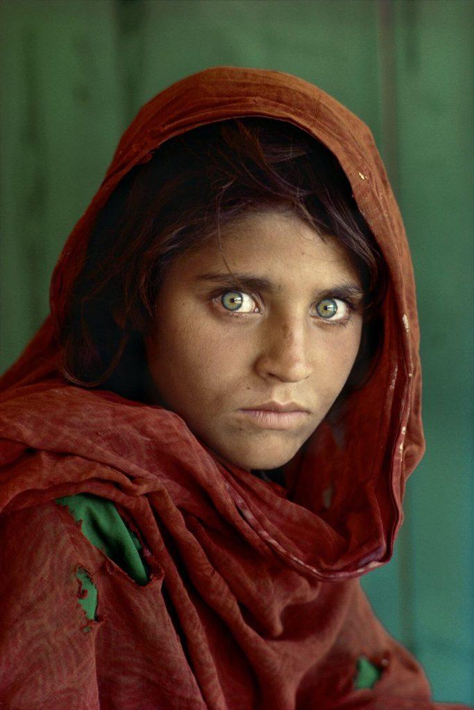 Afghan girl © Steve McCurry